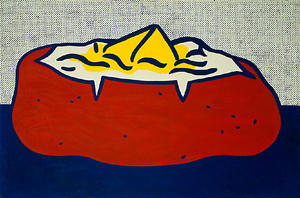 Roy Lichtenstein - Batata assada