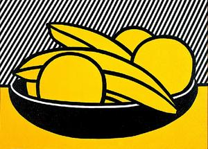 Roy Lichtenstein - Bananas e Grapefruit