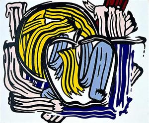 Roy Lichtenstein - Apple e Grapefruit