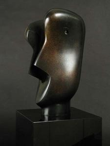 Henry Moore - Cabeça dividida