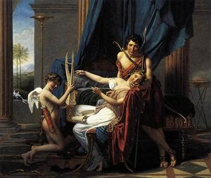 Jacques Louis David - Sappho e Phaon