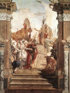 Giovanni Battista Tiepolo - A reunião de Anthony and Cleopatra