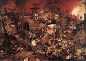 Pieter Bruegel The Elder - Dulle Griet (Mad Meg)