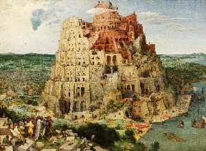 Pieter Bruegel The Elder - A Torre de Babel