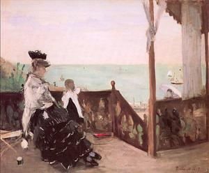 Berthe Morisot - Num Villa no Seaside