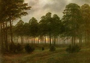 Caspar David Friedrich - evening1