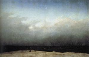 Caspar David Friedrich - monge pelo mar