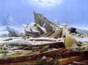 Caspar David Friedrich - O mar do gelo