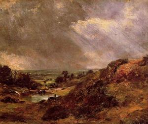 John Constable - Filial Hill Pond Hampstead