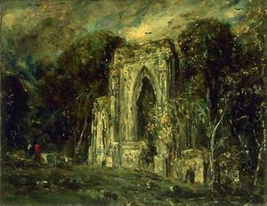 John Constable - Abbey Netley