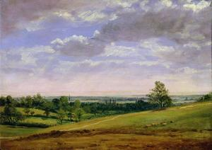 John Constable - Vista Highgate Monte