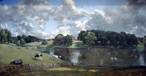 John Constable - parque de wivenhoe , Essex