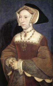 Hans Holbein The Younger - jane seymour , rainha de inglaterra