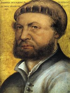 Hans Holbein The Younger - autoretrato