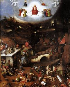Hieronymus Bosch - Triptych do Juízo Final painel central