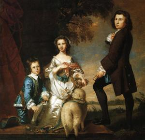 Joshua Reynolds - Thomas e Martha Neate com  educar