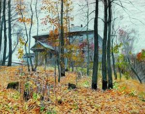 Isaak Ilyich Levitan - Outono. O Manor.