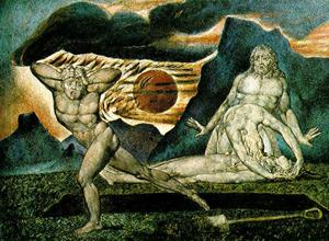 William Blake - o corpo de abel Encontrado adam e véspera
