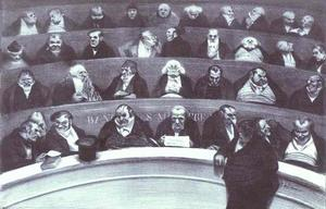 Honoré Daumier - A Barriga Legislativa