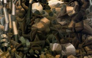 Fernand Leger - nus no floresta