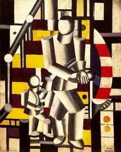 Fernand Leger - o Staircase2