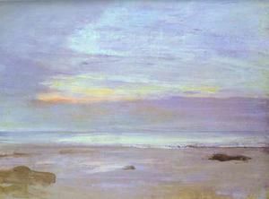 James Abbott Mcneill Whistler - Crepuscule em Opal, Trouville