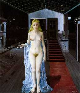 Paul Delvaux - Chrysis