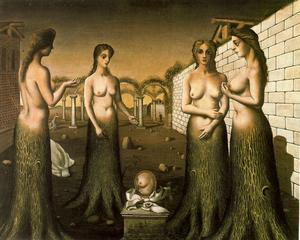 Paul Delvaux - o `break` de dia