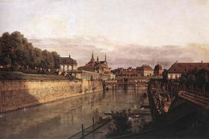 Bernardo Bellotto - Zwinger Waterway