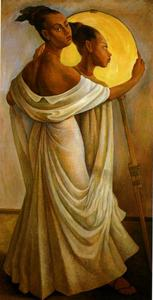 Diego Rivera - Retrato de Ruth Rivera