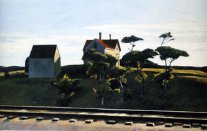 Edward Hopper - nova iorque , new haven e hartford
