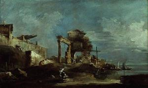 Francesco Lazzaro Guardi - Capriccio