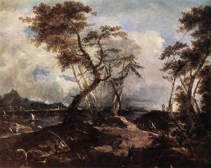 Francesco Lazzaro Guardi - paisagem