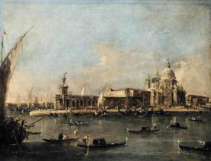Francesco Lazzaro Guardi - O Punta di Dogana