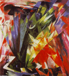 Franz Marc - aves