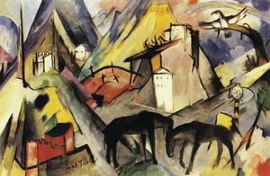 Franz Marc - O Unfortunte Land do Tirol