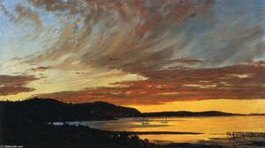 Frederic Edwin Church - do sol barra  contas de
