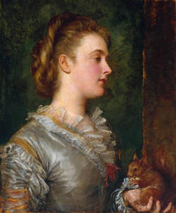 George Frederic Watts - dorothy tennant , mais tarde lady stanley