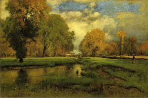 George Inness - outubro