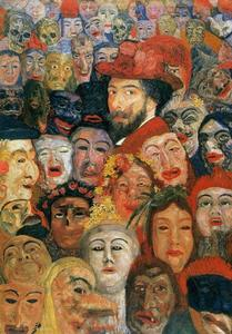 James Ensor - Ensor máscaras aux