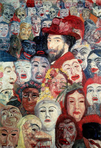 James Ensor - Ensor com Máscaras