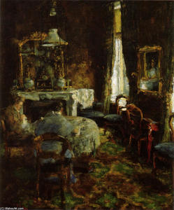James Ensor - O Bourgeois Salon