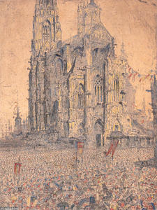 James Ensor - a catedral