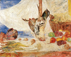 James Ensor - The Dead Galo