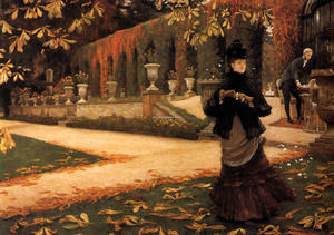 James Jacques Joseph Tissot - o carta