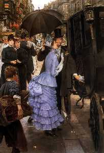 James Jacques Joseph Tissot - o viajante