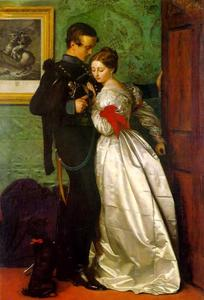 John Everett Millais - o preto Brunswicker