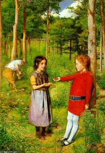 John Everett Millais - A Filha do Woodman