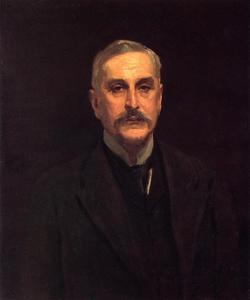 John Singer Sargent - Retrato do coronel Thomas Edward Vickers