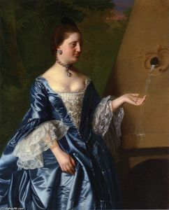 John Singleton Copley - Mrs.Alice Hooper